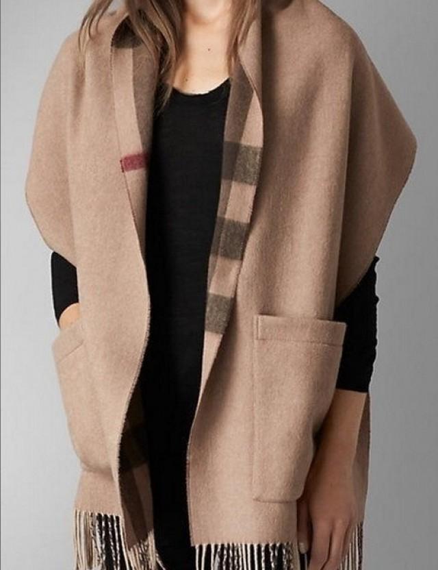BBRポケットショール ショール 韓国ファッション