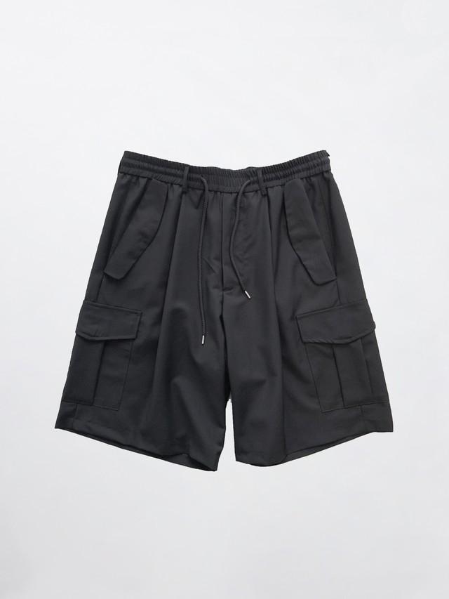 Lownn Cargo Short Black SS21-CARGOSHORT-834.601-5730
