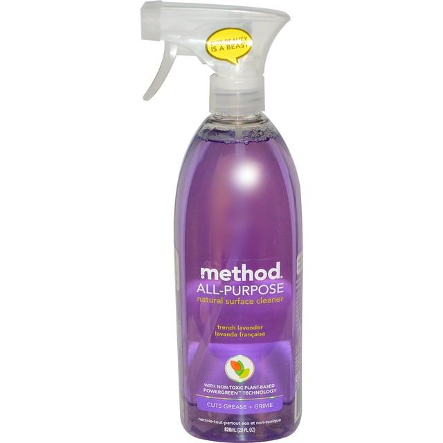 Method, 多目的用 ナチュラルサーフィスクリーナー【フレンチラベンダー】828 ml