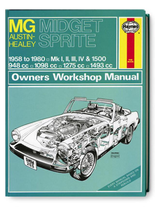 MGミジェット・オースティンヒーレー・スプライト・オーナーズ・ワークショップ・マニュアル