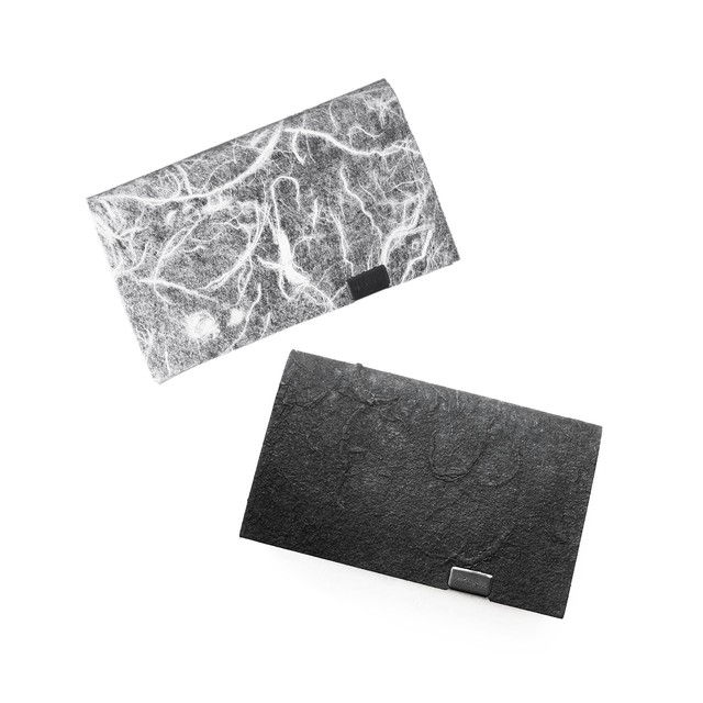 黒和紙/白和紙 コインケース