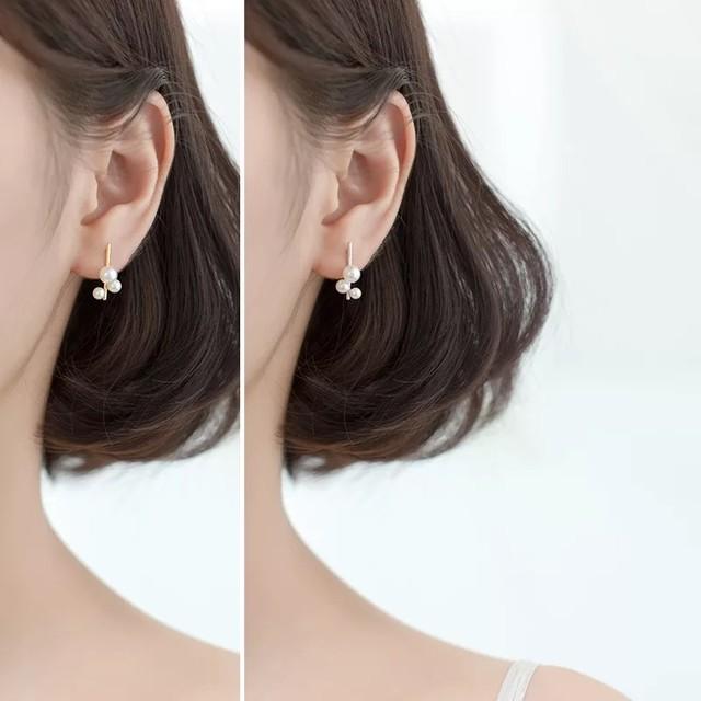 【在庫限り】bubble pearl pierce