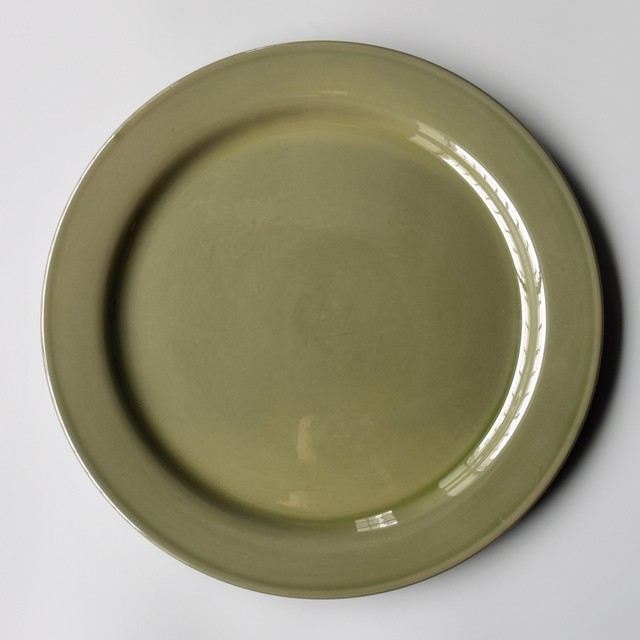 【PUEBCO】FOREST GREEN DINNERWARE Plate / φ33