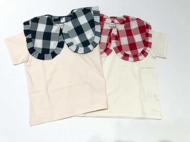 【20SS】フランキーグロウ ( frankygrow ) REMOVABLE BIG COLLAR TEE[ S / M / L ]