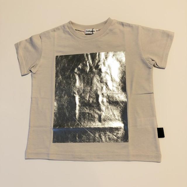【21SS】フランキーグロウ ( frankygrow ) SQUARE PRINT TEE[F]beige Tシャツ レディース トップス