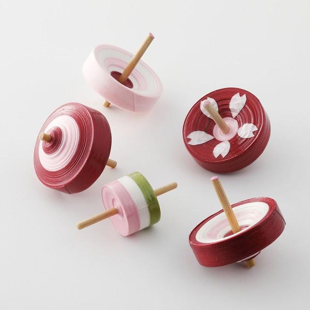 さくら舞こまセット Sakura koma (5pieces)