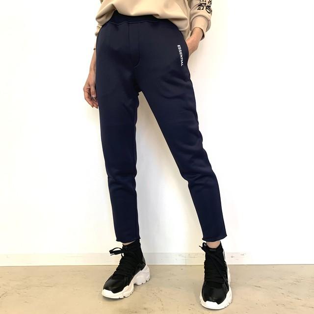 DOUBLE STANDARD CLOTHING  ESSENTIAL (ダブルスタンダードクロージング エッセンシャル) エアロダンボールニットパンツ 2506041211
