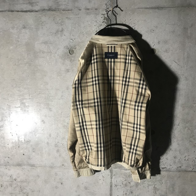 [Burberry]inside nova check jacket