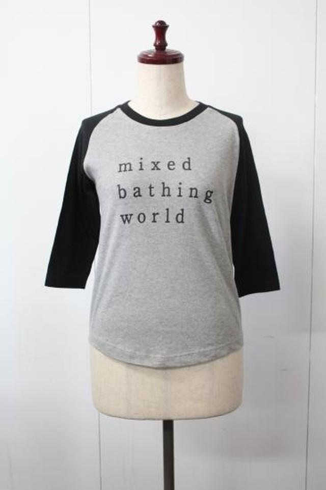 「混浴温泉世界 2015」ラグランスリーブ