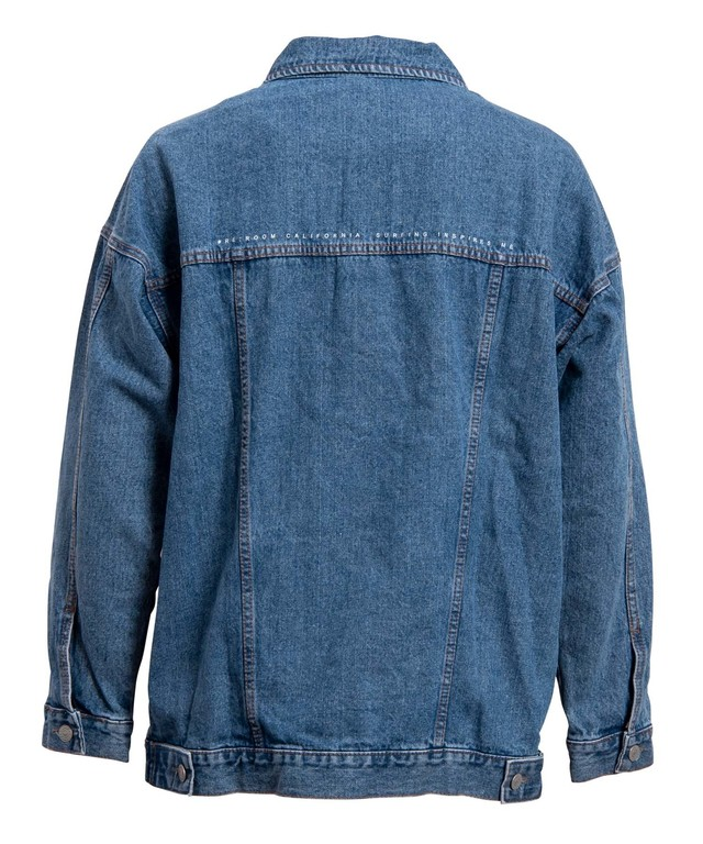 VINTAGE BIG DENIM JACKET[REJ029]