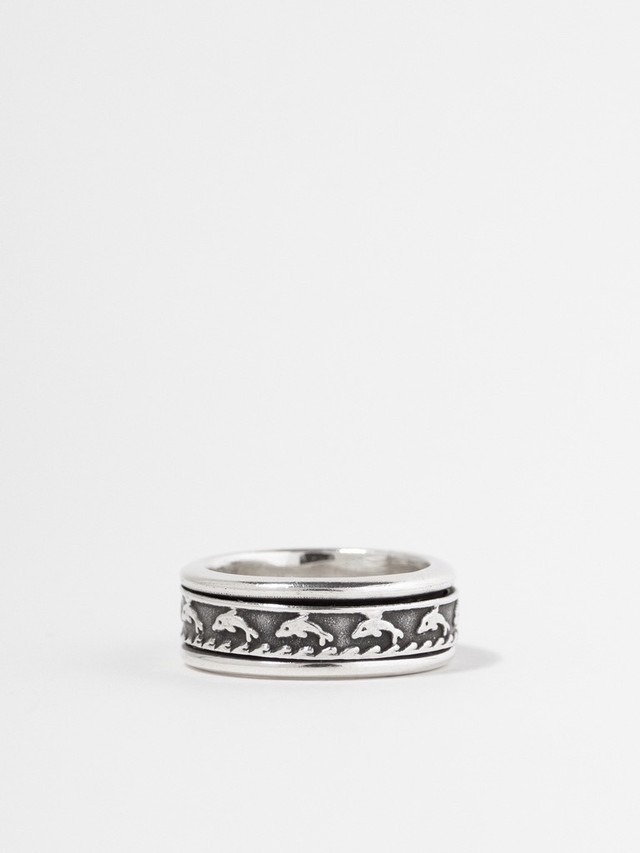 Dolphin Spinner Ring / Mexico