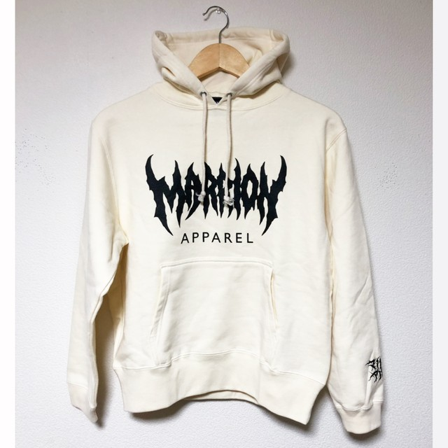 MARRION APPAREL LOGO HOODIE 2019 (Natural)
