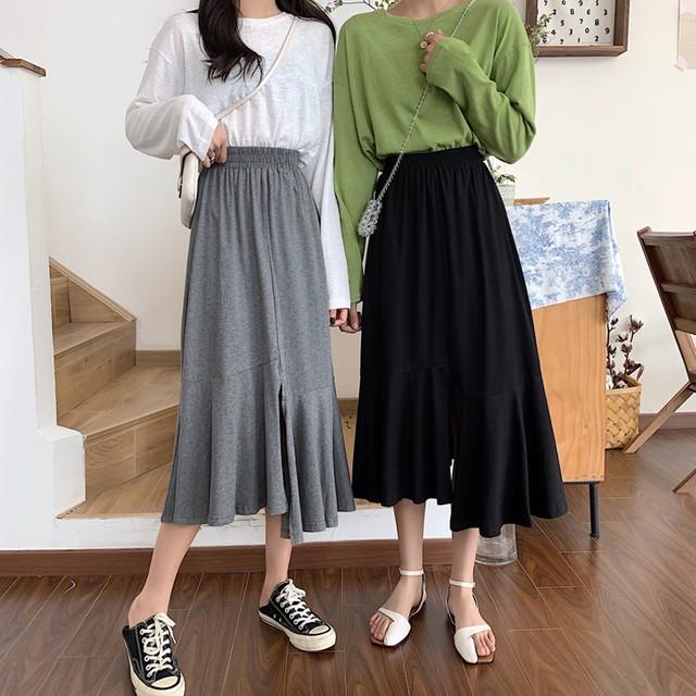 アシンメントリフィッシュテールスカート
