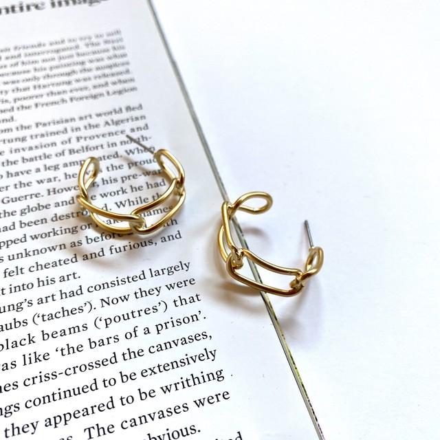 chain in gold pierce