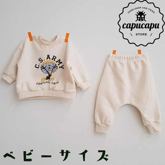 [baby size][予約] C.S.ARMY DUCK baby set / ベビーサイズ 2Colors