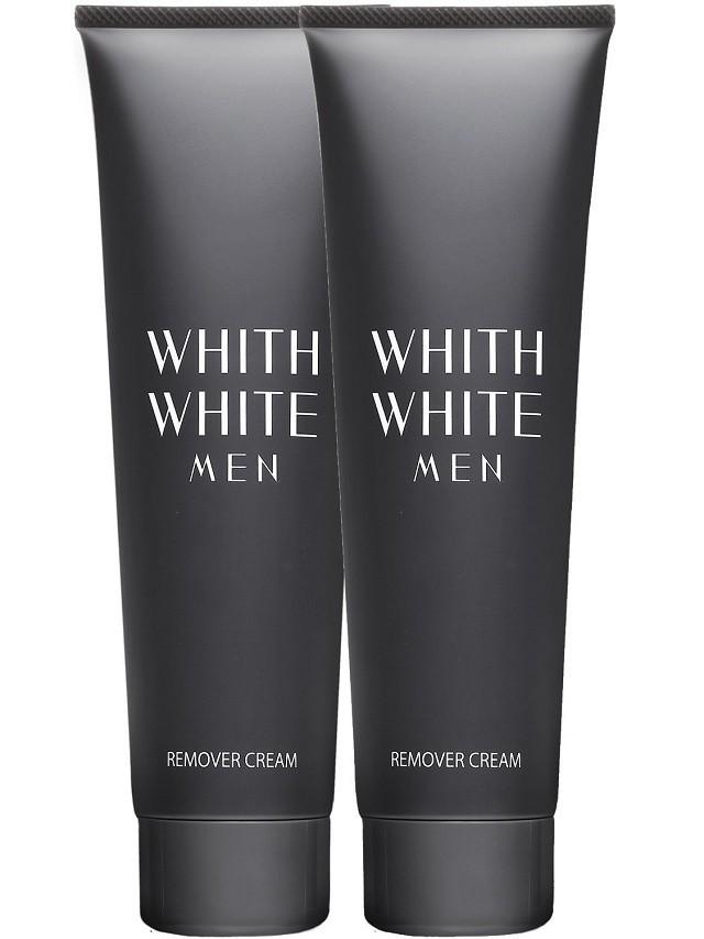 WHITH WHITE MEN 除毛クリーム2本セット 210g×2