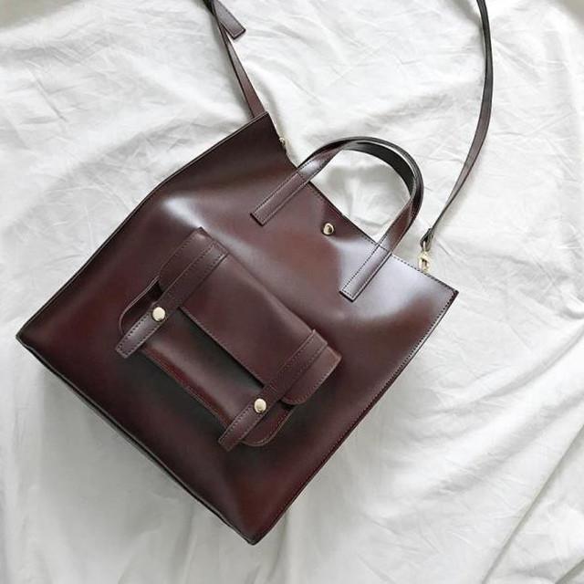 【バッグ】大容量カジュアルシンプル2wayバッグ売れ筋人気ハンドバック32371527