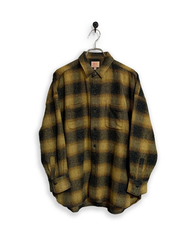 Onbray check flannel shirt/red
