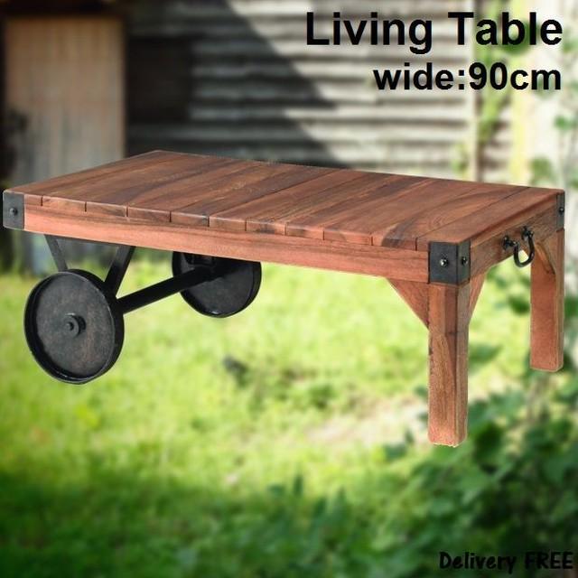 リビングテーブル トロリー S