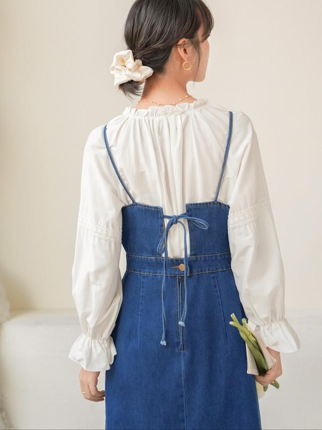 2/7NEW!! Suspender Denim Dress