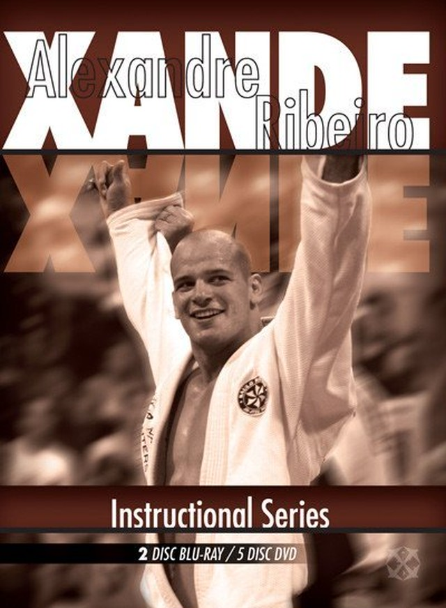 シャンジ・ヒベイロ ブラジリアン 柔術教則DVD Xande Instructional Series by Alexandre Ribeiro: Inside Xande's Mind 5 DVD Set