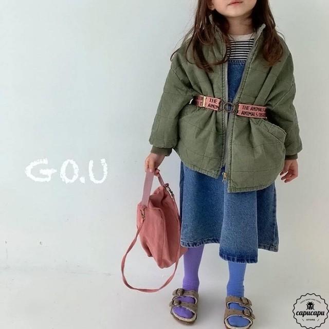 «予約» go.u square outer 2colors アウター ママサイズあり