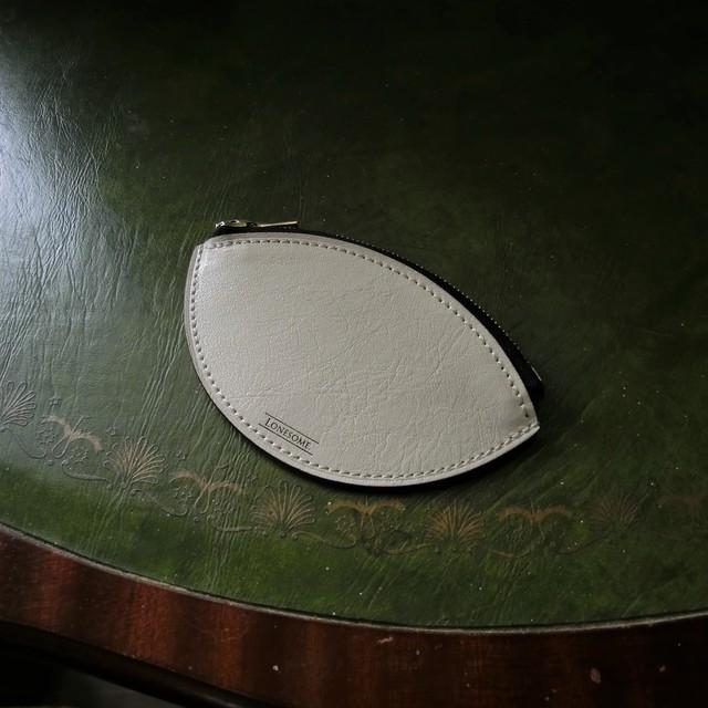 ZIP COIN PURSE -Ivory- ジップコインケース アイボリー