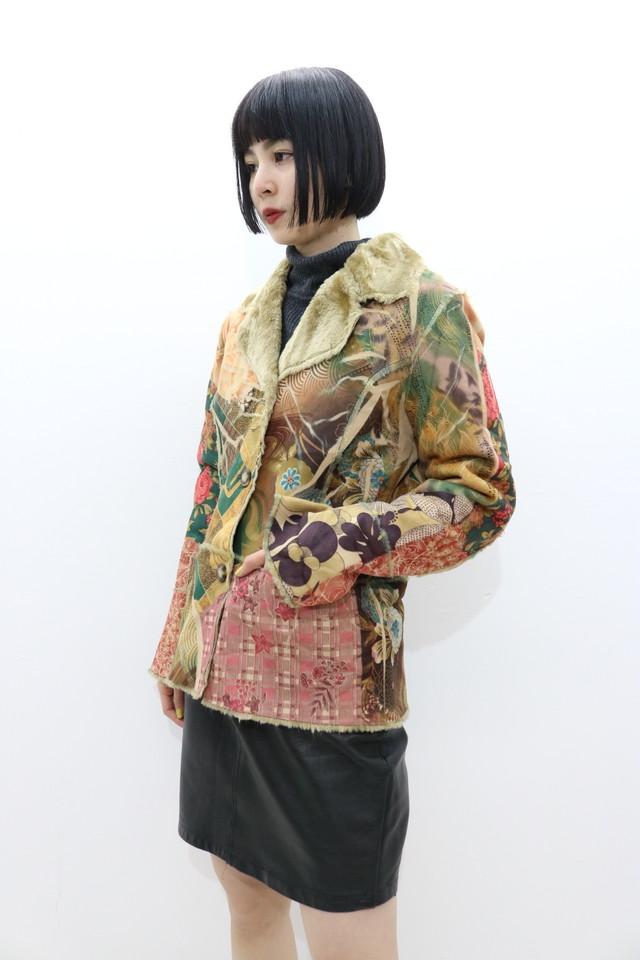 fakemouton 和柄 jacket / OU11300017