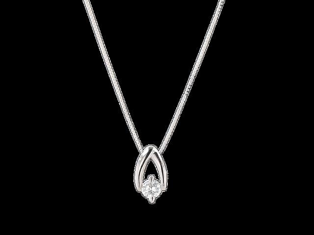 プラチナ ダイヤモンドネックレス