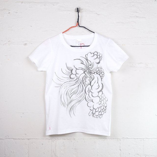 TshirtsComplex 板垣翠「黒線Tシャツ」