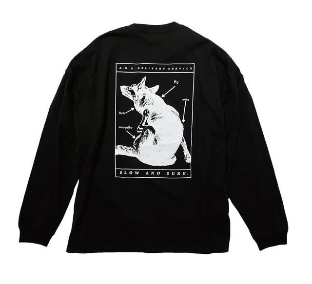 """A.N.D.2021 L/S T Shirts """" SLOW & SURE"""""""