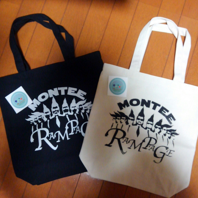 MONTEE×RAMPAGEコラボトートバッグ