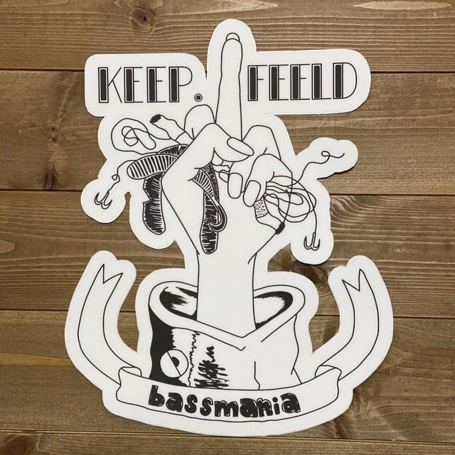 KEEP.FEELDボートカーペットデカール [big]