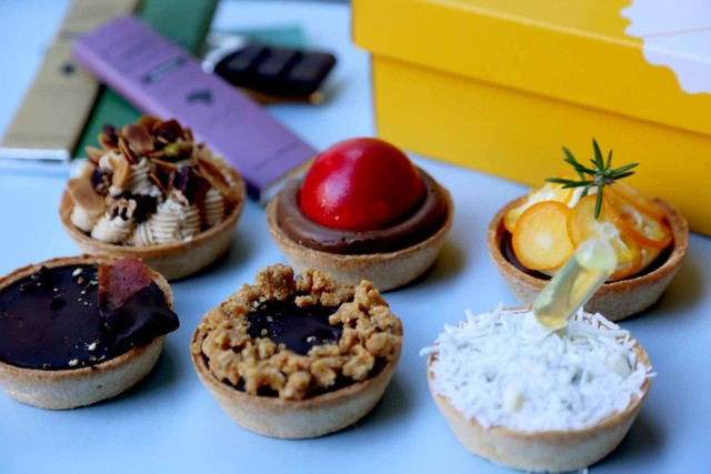 (Pie Holic×VANILLABEANSコラボ )セイボリー&スイーツ チョコレートパイセット
