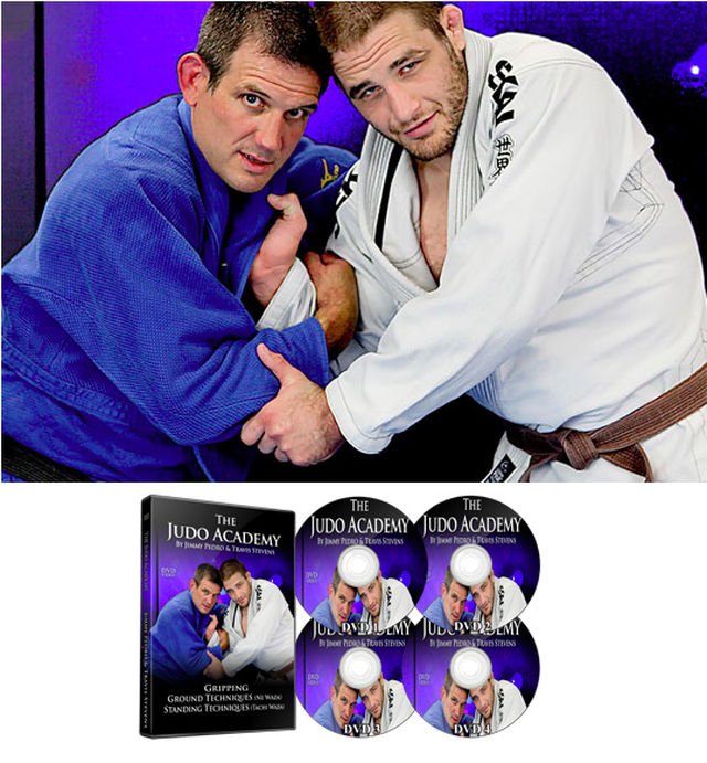 THE JUDO ACADEMY BY JIMMY PEDRO AND TRAVIS STEVENS (4 DVD SET)