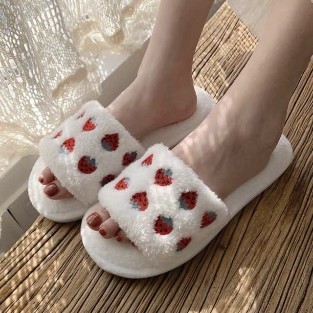 strawberry slipper