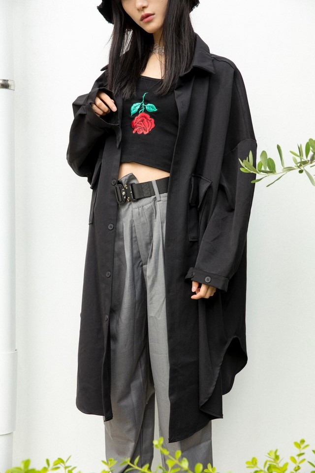 Black Over Shirt 5217