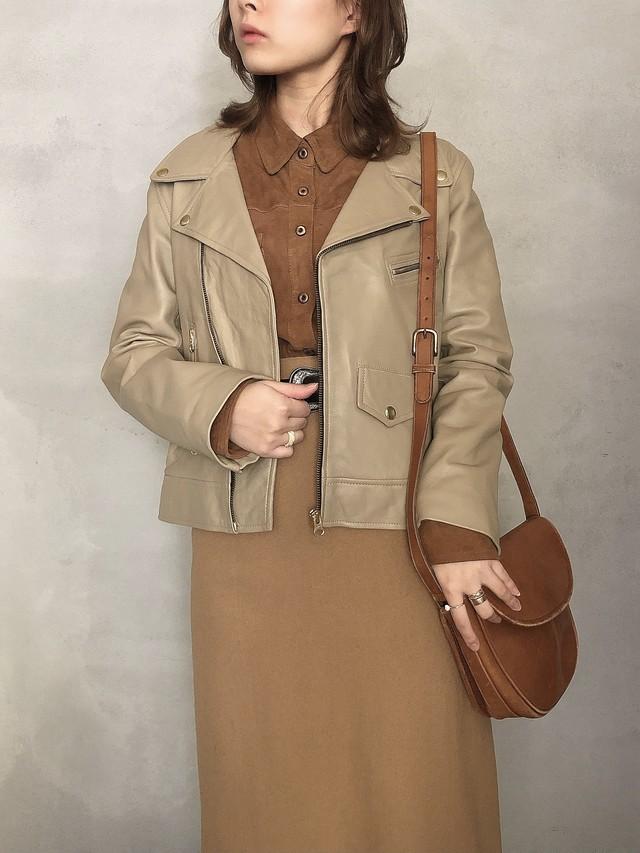 """"""" ESPRIT """" vintage suède blouse"""