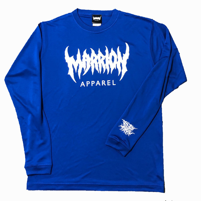 【DRY】MARRION APPAREL DRY LONGSLEEVE (コバルトブルー)