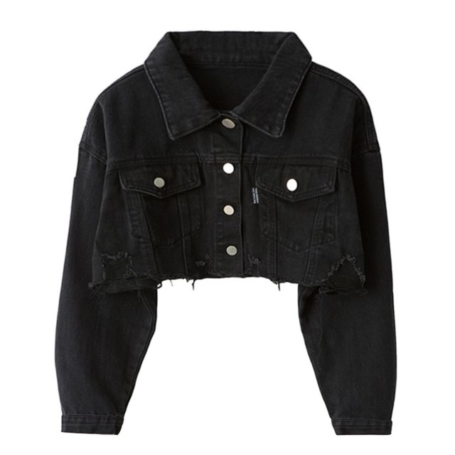 Mini Length Denim Jacket