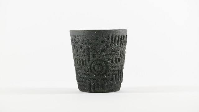 modern earthen tumbler/cup (small)