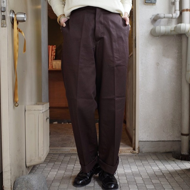 LENO (リノ) WIDE CHINO TROUSER