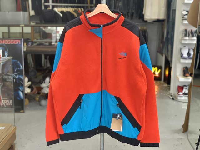 THE NORTH FACE 90 EXTREME FLEECE FZ JKT FIERY RED COMBO XL NF0A4AGKLKD	80JI
