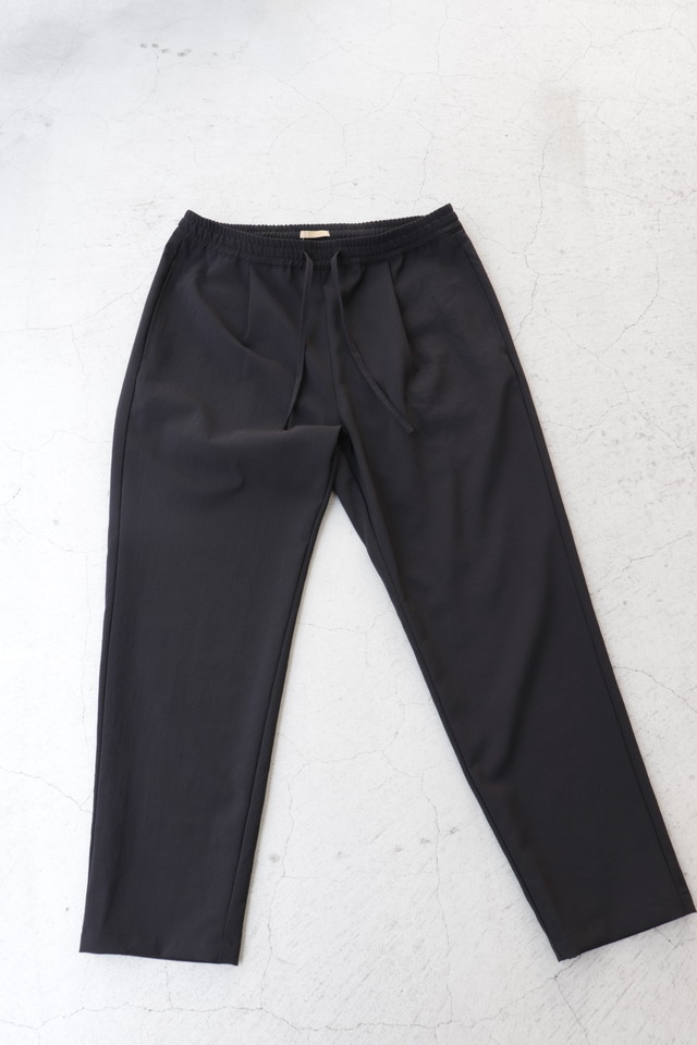 LAMOND 【ラモンド】SHARI PANTS BLACK/CHAMBRAY BLACK