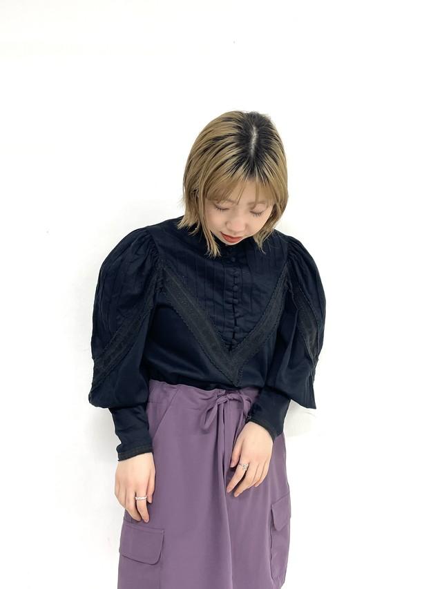 puff sleeve blouse / 3SSTP01-04