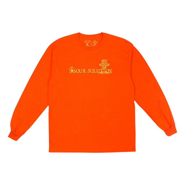 SOUR SOLUTION NUCLEAR LONGSLEEVE TEE ORANGE