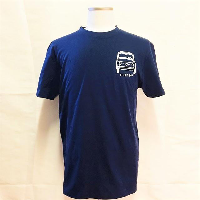 チンクエチェント博物館オリジナルTシャツ/ネイビー