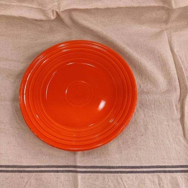 Fiesta プレート 23cm オレンジ