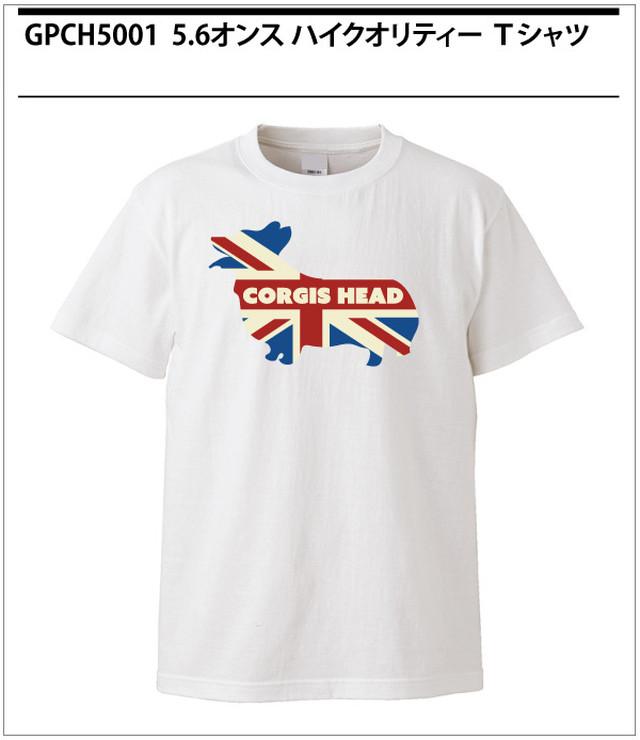 No.0020  コーギーズヘッドの定番Tシャツ!