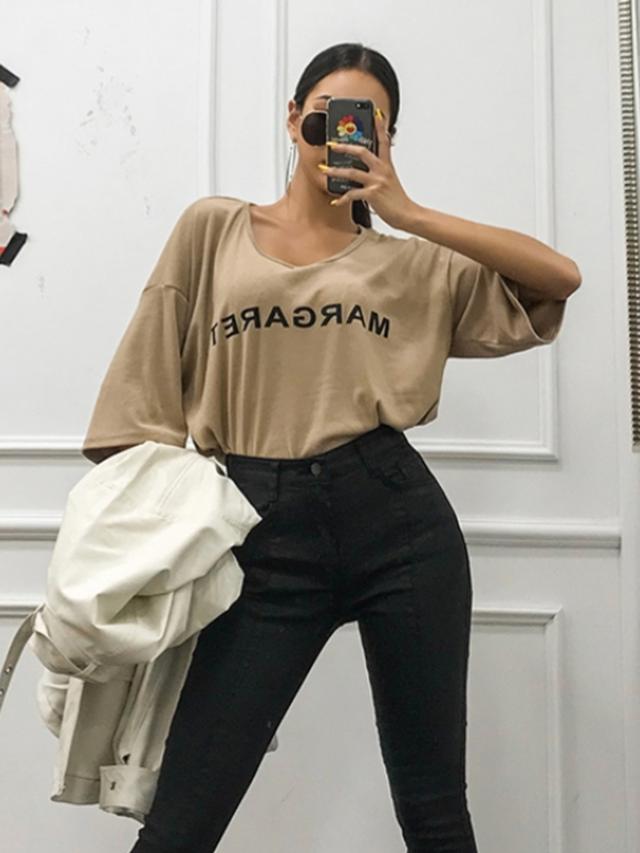 MARGARETTシャツ Tシャツ 韓国ファッション
